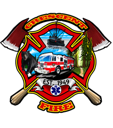 Crescent Fire Protection District logo